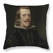 Philip Iv Of Spain Throw Pillow
