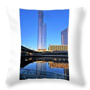 Philly Over The Schuylkill Throw Pillow