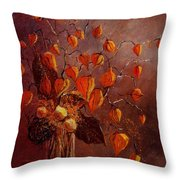 Physialis Throw Pillow