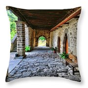 Piasca Iglesia De Santa Maria_img155a8396a Throw Pillow