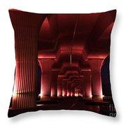 Pink Bridge 4 Throw Pillow