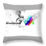 Pink Floyd Throw Pillow