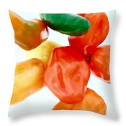 Piquant Play 1  Throw Pillow