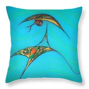 Pneuma Throw Pillow