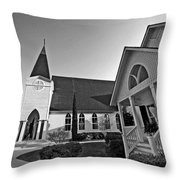 Point Clear Alabama St. Francis Church Throw Pillow