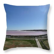 Pong Of Salt Water In Aigues Morte Throw Pillow