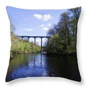 Pontcysyllte Aqueduct Throw Pillow