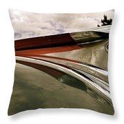 Pontiac Ornament  Throw Pillow by Alan Johnson