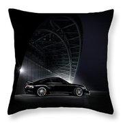 Porsche Throw Pillow