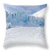 Portage Glacier, Alaska Throw Pillow