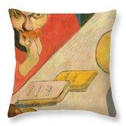 Portrait Of Jacob Meyer De Haan Throw Pillow