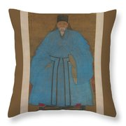 Portrait Of The Artist Throw Pillow