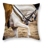 Portugal Lusitano Horse Throw Pillow