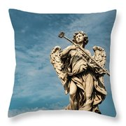 Potaverunt Me Aceto Throw Pillow