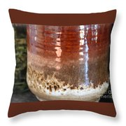 Pottery Reflection Throw Pillow