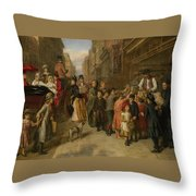 Poverty And Wealth Throw Pillow