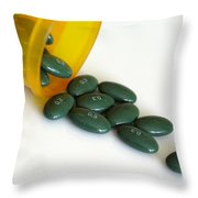 Premarin 0.3 Mg Pills Throw Pillow