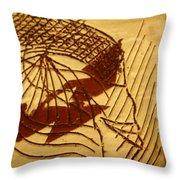 Presence - Tile Throw Pillow