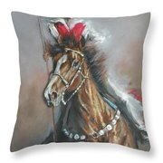 Presenting The Colors Throw Pillow