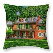President James Buchanan's Wheatland Throw Pillow
