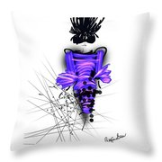 Pretty In Purple  Throw Pillow