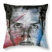 Pretty Noose - Tribute To  Chris Cornell Throw Pillow
