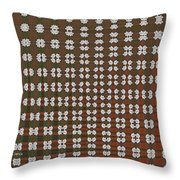 Prickly Poppy Abstract Throw Pillow