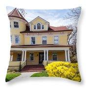 Prospect Park South Historic District Throw Pillow