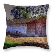 Prosser Barn Throw Pillow