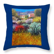 Provence In Bloom Throw Pillow