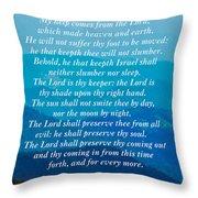 Psalm 121 Throw Pillow