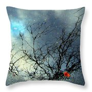 Puddle Art Throw Pillow