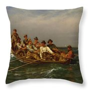 Pull For The Shore Throw Pillow