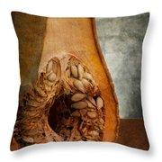 Pumpkin Anatomy Throw Pillow