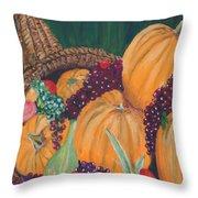 Pumpkin Plenty Throw Pillow