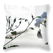 Pure Throw Pillow by Jocelyn Friis