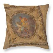 Purity And Grace Throw Pillow