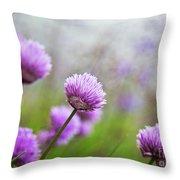 Purple Spring 7 Throw Pillow