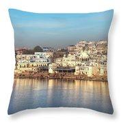 Pushkar - India Throw Pillow
