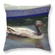 Quacker Throw Pillow