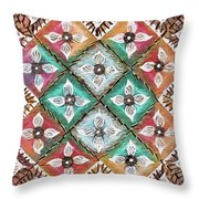 Quadillium Throw Pillow
