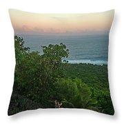 Quam Sunrise Throw Pillow