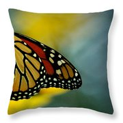 Queen Monarch Throw Pillow