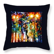 Rainy Dance Throw Pillow