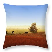 Rawdon Everyday Life Throw Pillow by Aimelle