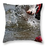 Reaching For It Throw Pillow