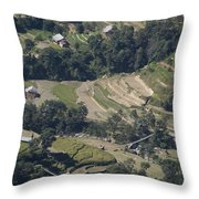 Reality Throw Pillow by Atul Daimari