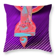 Record Needle, Sem Throw Pillow