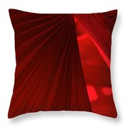 Red As Blood Throw Pillow