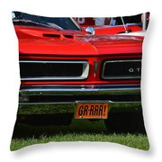 red GTO Throw Pillow